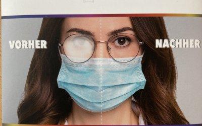 Antibeschlag Brillentücher